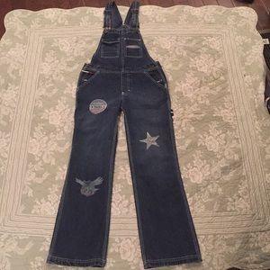 Vtg Tommy Hilfiger overalls Excellent condition